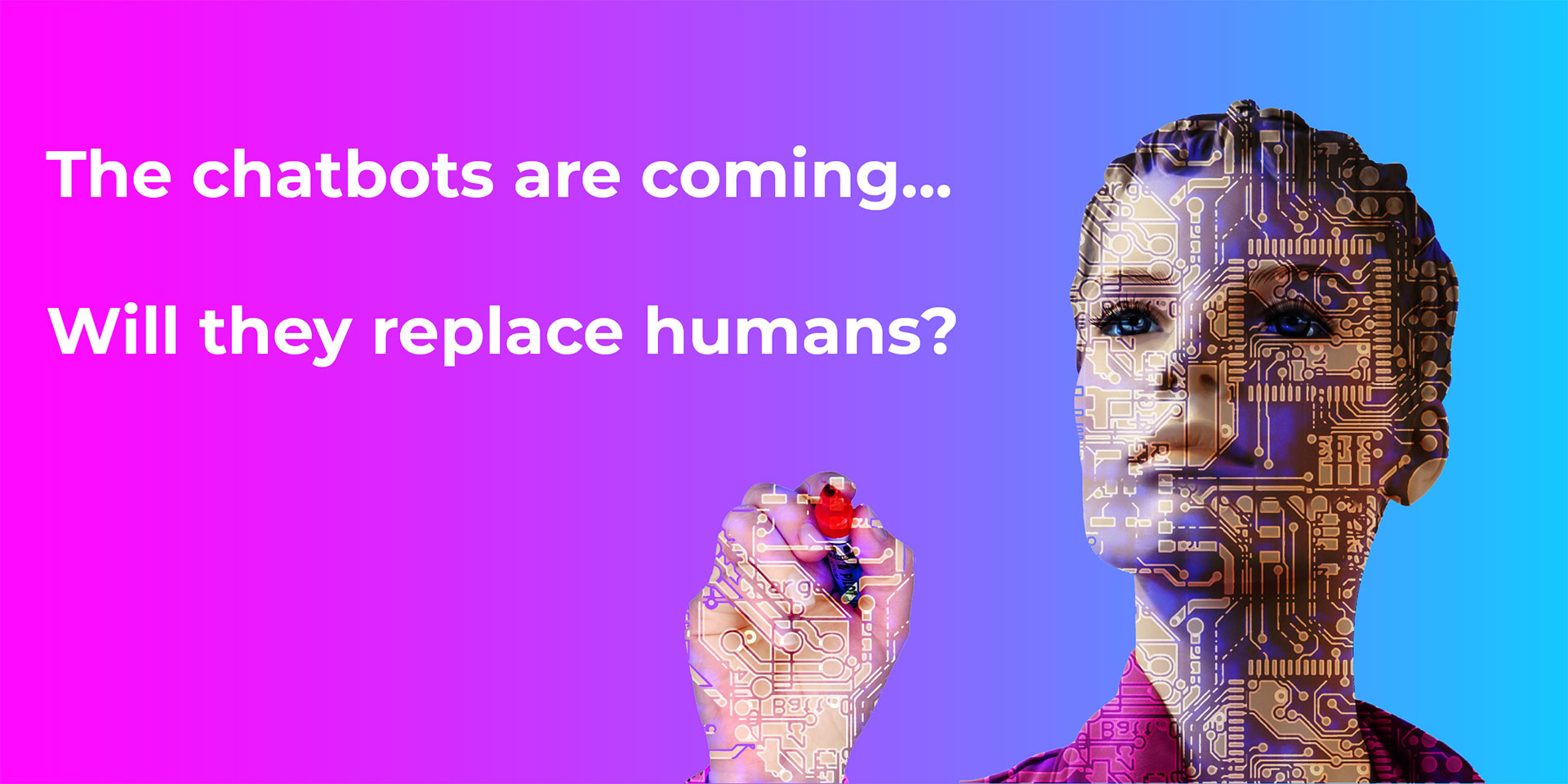 Will chatbots replace humans? Hell No.