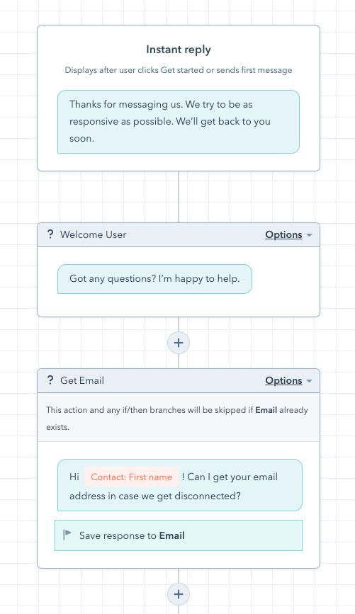 hubspot-chatflow-interface
