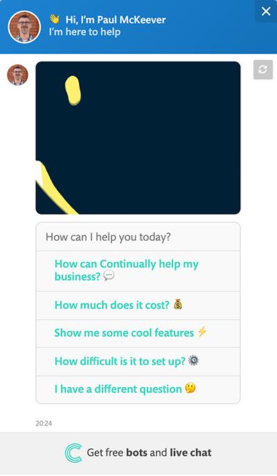 website-widget-chatbot