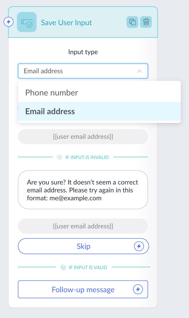 recart-user-input