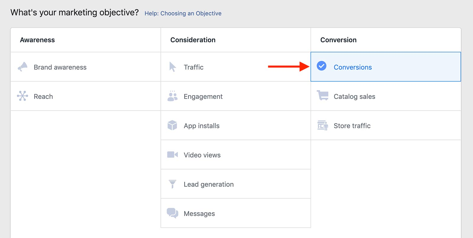 conversion-instagram-ad-objective