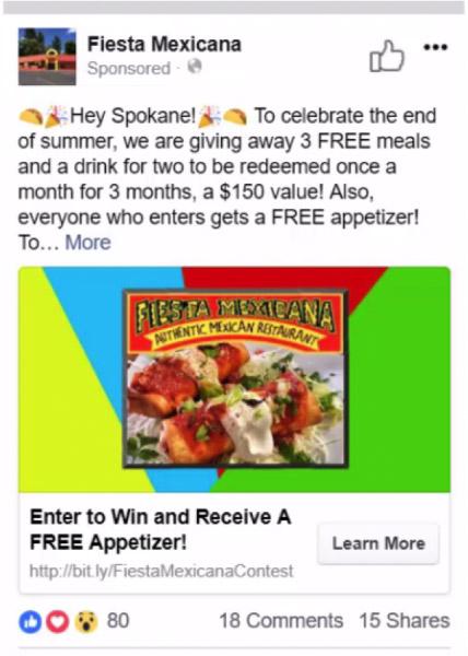 restaurant-facebook-ad